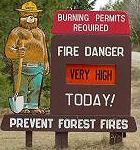 campfire danger